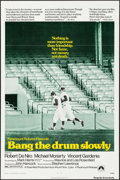 "Movie Posters:Sports, Bang the Drum Slowly & Other Lot (Paramount, 1973). One Sheets (2) (27"" X 41""). Sports.. ... (Total: 2 Items)"