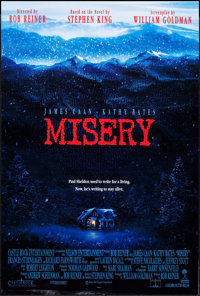 "Misery & Others Lot (Columbia, 1990). One Sheets (5) (27"" X 40"" & 27"" X 41"") SS Regular and..."