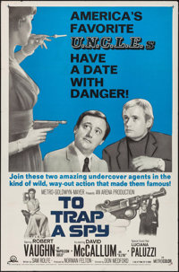 """To Trap a Spy & Other Lot (MGM, 1966). One Sheets (2) (27"""" X 41""""). Action. ... (Total: 2 Items)"""