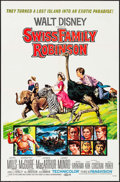 "Movie Posters:Adventure, Swiss Family Robinson & Others Lot (Buena Vista,R-1972/R-1975). One Sheets (2) (27"" X 41""), Uncut Pressbook (12Pages, 11"" ... (Total: 4 Items)"