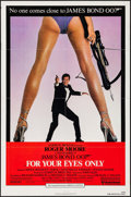 "Movie Posters:James Bond, For Your Eyes Only (United Artists, 1981). One Sheet (27"" X 41""). James Bond.. ..."