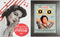 Music Memorabilia:Original Art, A Connie Francis Pair of Color Images Related to Being 'MissCoca-Cola' in 1960, Circa 2000s.... (Total: 2 Items)