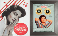 A Connie Francis Pair of Color Images Related to Being 'Miss Coca-Cola' in 1960, Circa 2000s