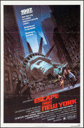 """Movie Posters:Science Fiction, Escape from New York (Avco Embassy, 1981). One Sheet (27"""" X 41"""").Science Fiction.. ..."""