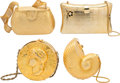 Music Memorabilia:Costumes, A Connie Francis Group of Fancy Evening Bags, Circa 1980s....(Total: 4 Items)