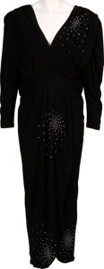 Music Memorabilia:Costumes, A Connie Francis Evening Gown Worn to a Public Event, 2000s....
