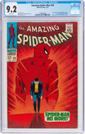 Silver Age (1956-1969):Superhero, The Amazing Spider-Man #50 (Marvel, 1967) CGC NM- 9.2 White pages....