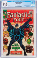 Silver Age (1956-1969):Superhero, Fantastic Four #46 (Marvel, 1966) CGC NM+ 9.6 White pages....