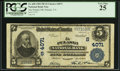 National Bank Notes:Virginia, Pulaski, VA - $5 1902 Plain Back Fr. 600 The Pulaski NB Ch. #(S)4071. ...