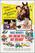 "Movie Posters:Drama, So Dear to My Heart & Others Lot (Buena Vista, R-1964). OneSheets (5) (27"" X 41""). Drama.. ... (Total: 5 Items)"