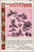 Movie Posters:Western, Cheyenne Autumn & Other Lot (Warner Brothers, 1964). Folde...