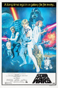 "Movie Posters:Science Fiction, Star Wars (20th Century Fox, 1977). Australian One Sheet (27"" X40"") Tom Chantrell Artwork.. ..."