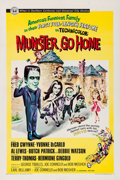 """Movie Posters:Comedy, Munster, Go Home (Universal, 1966). One Sheet (27"""" X 41"""").. ..."""