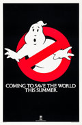"Movie Posters:Comedy, Ghostbusters (Columbia, 1984). One Sheet (27"" X 41"") Advance.. ..."