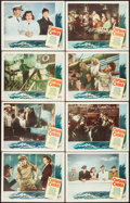"""Movie Posters:Adventure, Captain China (Paramount, 1950). Lobby Card Set of 8 (11"""" X 14"""").Adventure.. ... (Total: 8 Items)"""