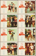 """Movie Posters:Musical, Li'l Abner (Paramount, 1959). Lobby Card Set of 8 (11"""" X 14""""). Musical.. ... (Total: 8 Items)"""