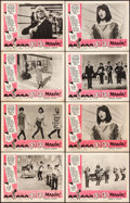 "Movie Posters:Rock and Roll, Go Go Mania (American International, 1965). Lobby Cards (8) (11"" X14""). Rock and Roll.. ... (Total: 8 Items)"