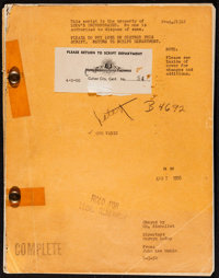 """Quo Vadis (MGM, 1951). Script (Multiple Pages, 8.5"""" X 11""""). Historical Drama"""