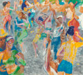 Fine Art - Work on Paper:Print, LeRoy Neiman (American, 1921-2012). Havana Rhythm, 2000.Screenprint in colors. 29-3/4 x 33 inches (75.6 x 83.8 cm) (ima...