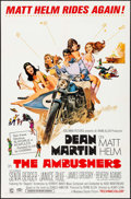 """Movie Posters:Action, The Ambushers (Columbia, 1967). One Sheet (27"""" X 41""""), Lobby CardSet of 8 (11"""" X 14""""), Photos (20) (8"""" X 10""""), & Uncut Pres...(Total: 30 Items)"""