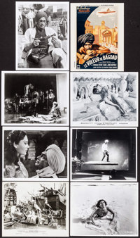 """The Thief of Bagdad & Other Lot (Film Classics, R-1947/c. 1970s). Photo, Restrike Photos (17) (Approx. 8"""" X 10&..."""