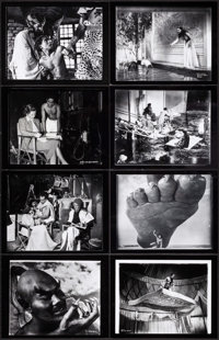 "The Thief of Bagdad (United Artists, 1940). Restrike Contact Prints From Negatives (109) (8.5"" X 11""). Fantasy..."