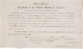 Autographs:U.S. Presidents, Ulysses S. Grant Document Signed ...