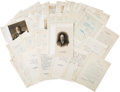 Autographs:U.S. Presidents, William H. Taft Letters to John Wesley Hill....