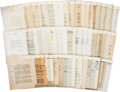 Autographs:U.S. Presidents, Eleanor Roosevelt Typed Letters (3) Signed and Earl Warren TypedLetter Signed...