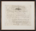 Autographs:U.S. Presidents, Abraham Lincoln Signed Appointment....