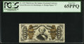 Fractional Currency:Third Issue, Fr. 1333 50¢ Third Issue Spinner PCGS Gem New 65PPQ.. ...