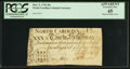 Colonial Notes:North Carolina, North Carolina March 9, 1754 30s PCGS Apparent Extremely Fine 45.....