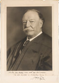 Autographs:U.S. Presidents, William Howard Taft Inscribed Signed Photograph....