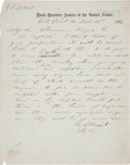 Autographs:U.S. Presidents, Ulysses S. Grant Autograph Letter Signed to General William T. Sherman. ...