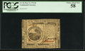 Colonial Notes:Continental Congress Issues, Continental Currency May 9, 1776 $6 PCGS Choice About New 58.. ...