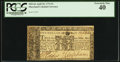 Colonial Notes:Maryland, Maryland April 10, 1774 $1 PCGS Extremely Fine 40.. ...