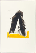 Fine Art - Work on Paper:Print, Robert Motherwell (1915-1991). Untitled, from The BasqueSuite, 1970-71. Screenprint in colors with embossing. 22-1/...