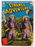 Golden Age (1938-1955):Science Fiction, Strange Adventures #1 (DC, 1950) Condition: FR....