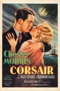 "Movie Posters:Adventure, Corsair (Artcinema, R-1937). One Sheet (27"" X 41"").. ..."