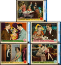 "Movie Posters:Comedy, Pointed Heels (Paramount, 1929). CGC Graded Lobby Cards (5) (11"" X14"").. ... (Total: 5 Items)"