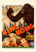 "Movie Posters:Horror, King Kong (RKO, R-1950). French North African One Sheet (27.5"" X40"").. ..."
