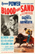 "Movie Posters:Drama, Blood and Sand (20th Century Fox, 1941). One Sheet (27"" X 41"")Style A.. ..."