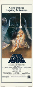 "Movie Posters:Science Fiction, Star Wars (20th Century Fox, 1977). Insert (14"" X 36"") Tom JungArtwork.. ..."