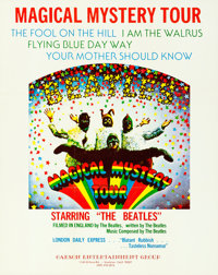 """Magical Mystery Tour (New Line, Mid-1970s). College Poster (23"""" x 29"""")"""