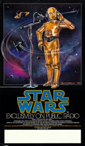 "Movie Posters:Science Fiction, Star Wars (20th Century Fox, 1981). NPR Poster (17"" X 29"") CeliaStrain Artwork.. ..."