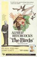 "Movie Posters:Hitchcock, The Birds (Universal, 1963). One Sheet (27"" X 41""). Hitchcock.. ..."