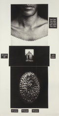 Fine Art - Work on Paper:Print, Lorna Simpson (b. 1960). Counting, 1991. Photogravure andscreenprint on paper. 73-1/2 x 38 inches (186.7 x 96.5 cm) (si...