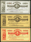Obsoletes By State:Nevada, Winnemucca, NV - Humboldt County Warrants Various Amounts 1917-1920. Three Examples.. ... (Total: 3 items)
