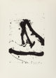Robert Motherwell (1915-1991) Untitled, from Beside the Sea series, 1966 Lithograph on Rives BFK paper 18-3/4 x 1