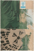 Fine Art - Work on Paper:Print, Robert Rauschenberg (1925-2008). Statue of Liberty, fromNew York, New York series, 1983. Screenprint in colorswith...